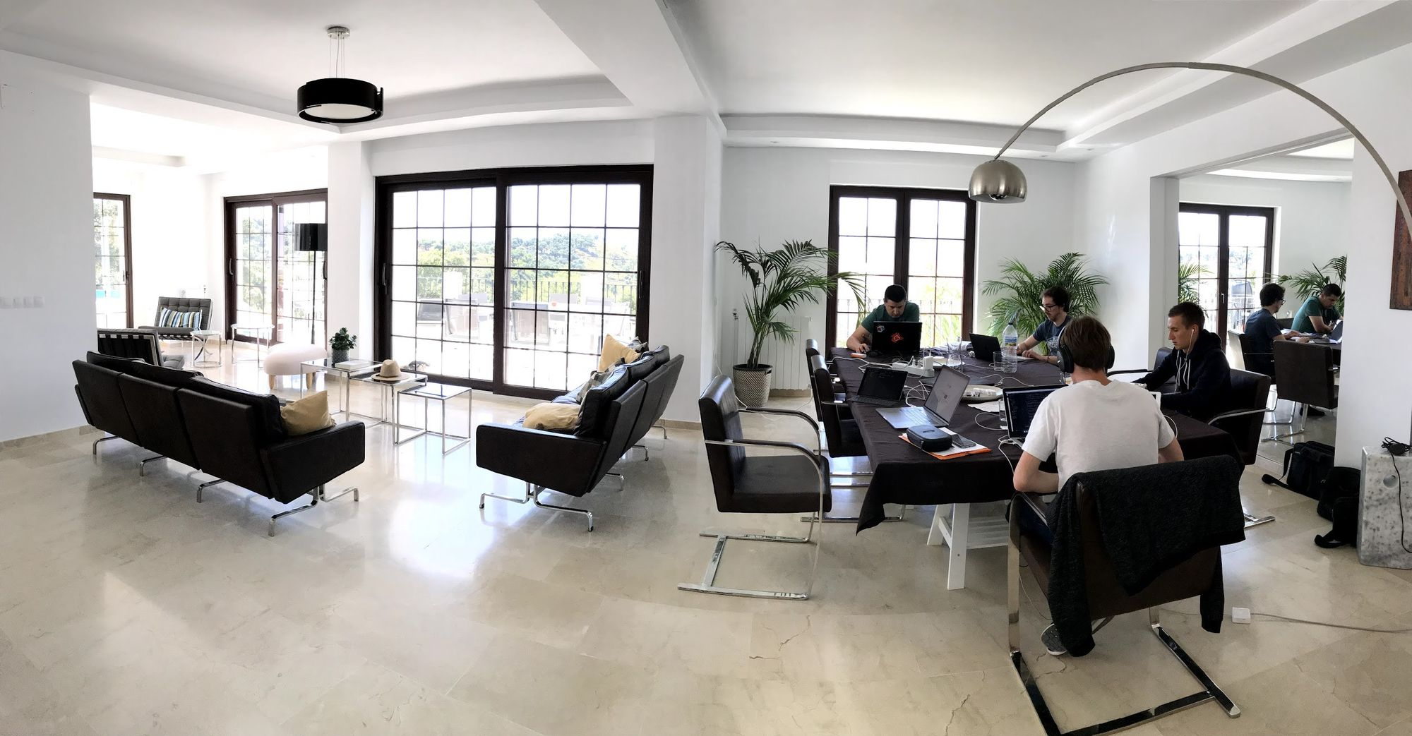 Company retreat in Spain