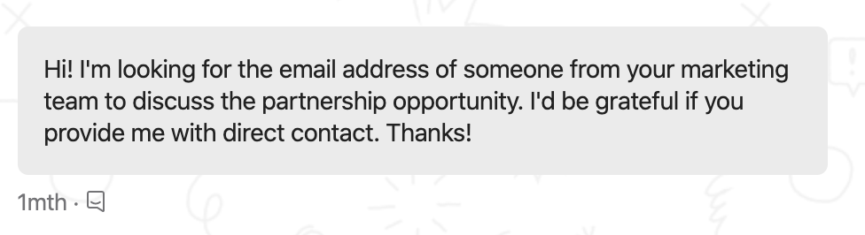 Reach out on Intercom (or support chat) for someone's email address
