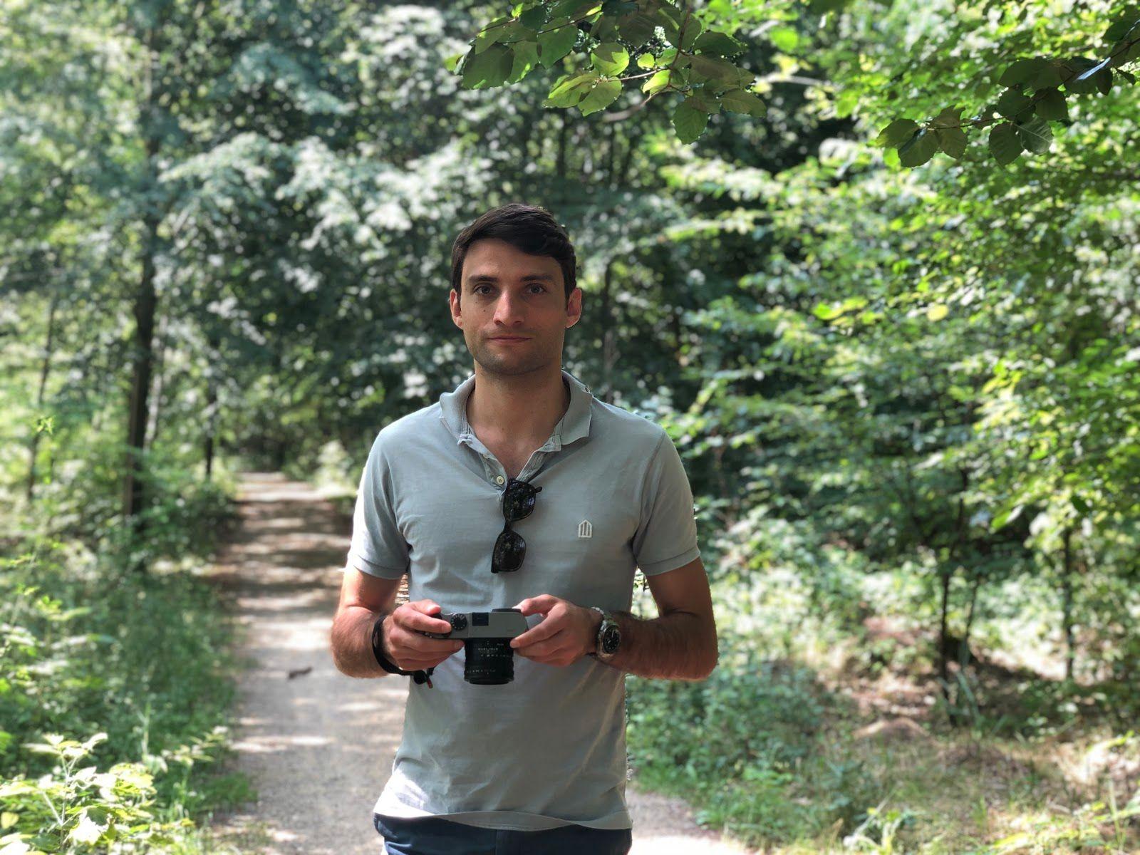 Antoine from the Hunter team