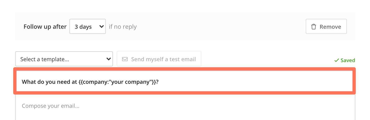Automate sending follow-ups 3